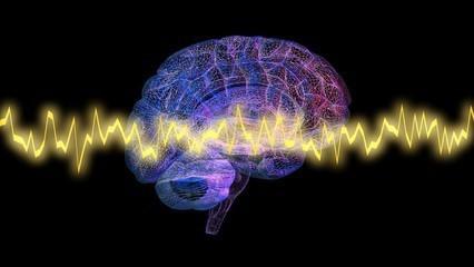 cerveau parcouru par fréquence pour aider à stopper le tabac